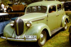 1938 Plymouth 4-Door Touring Sedan